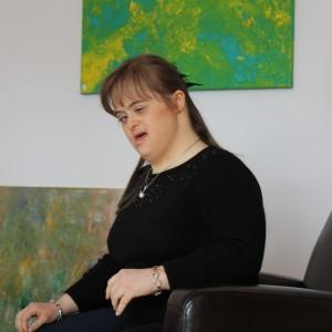 Die Künstlerin Isabell Liebehenz