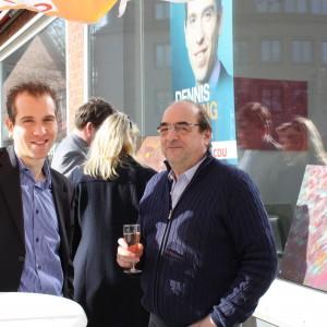 Dennis Thering im Gespräch mit Hans-Joachim Feigl