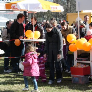 Viele Kinder haben an der Ostereiersuche teilgenommen