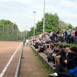 Weit über 200 Zuschauer verfolgten das Halbfinale