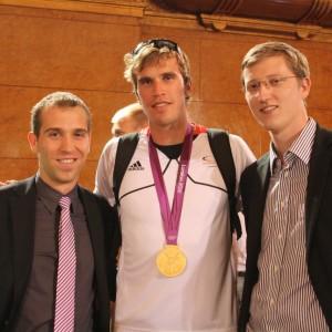 Dennis Thering, Philipp Wende und Sören Niehaus