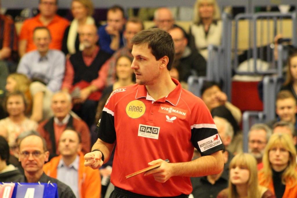 Europameister Timo Boll