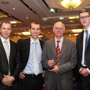 Andreas von Weihe, Dennis Thering, Dr. Nobert Lammert und Sören Niehaus