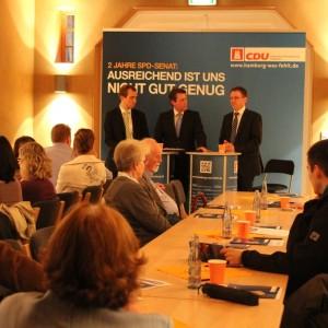 Dennis Thering, Dietrich Wersich und Thilo Kleibauer