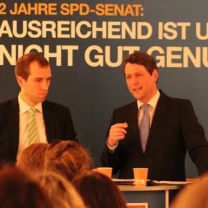Dennis Thering und Dietrich Wersich, CDU-Fraktionsvorsitzender