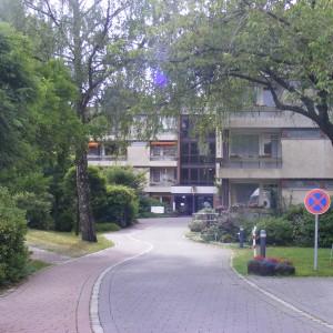 Tolle Parkanlagen im Hospital zum Heiligen Geist
