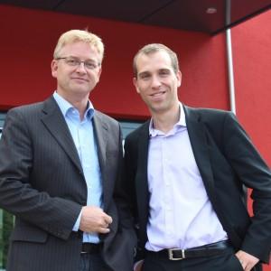 Steffen Schumann und Dennis Thering