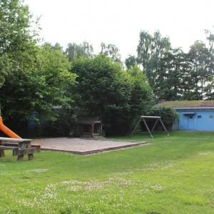 Die Außenanlage des Max-Kramp-Haus