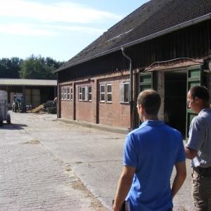 Viele interessante Einblicke beim Rundgang über den Wohldorfer Hof