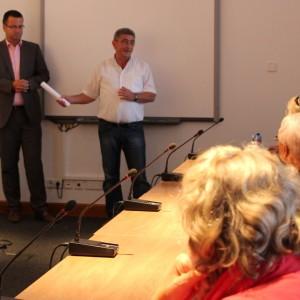 Im Gespräch mit dem Rügener Landtagsabgeordneten Burkhard Lenz