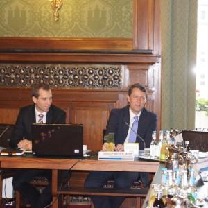 Dietrich Wersich begrüßte die Gäste und berichtete über seine erfolgreiche Zeit als Verbraucherschutzsenator in Hamburg