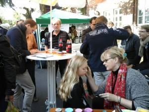 Das Kinderschminken der CDU Alstertal war ein Highlight des Saseler Heimatfestes. Lieben Dank an Meike Blenner!