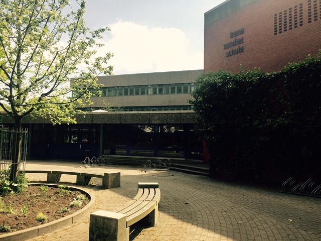 Aula der Irena-Sendler-Schule in Wellingsbüttel