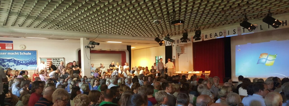Infoveranstaltung in Poppenbüttel
