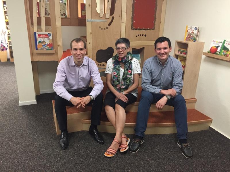 Dennis Thering zu Besuch im Christopherus Kindergarten
