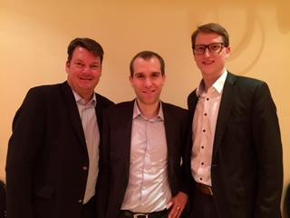 Philip Buse, Dennis Thering und Sören Niehaus