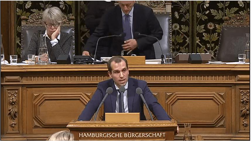 Rede in der Hamburgischen Bürgerschaft vom 13. September 2017 zum Thema Videoüberwachung an Bahnhofsvorplätzen und Busbahnhöfen ausbauen