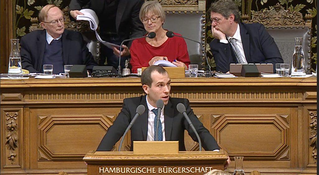 Rede in der Hamburgischen Bürgerschaft vom 8. November 2017 zum Thema Elektromobilität in Hamburg