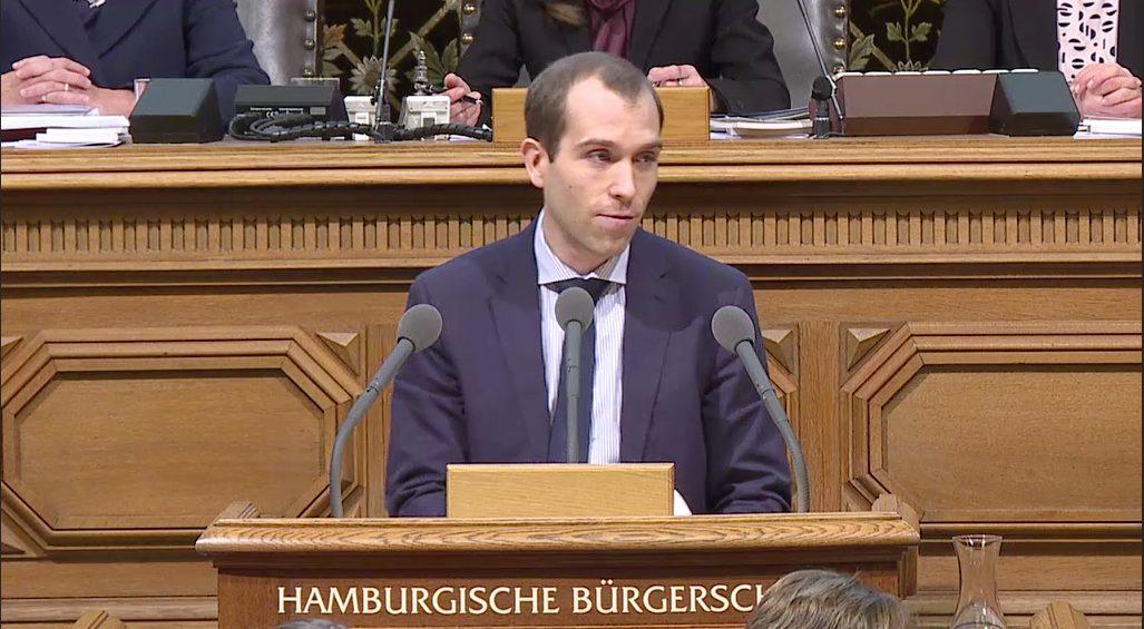 Rede in der Hamburgischen Bürgerschaft vom 20. Dezember 2017 zum Thema Tempo 30 auf Hauptverkehrsstraßen und die Doppelmoral der Grünen Senatoren
