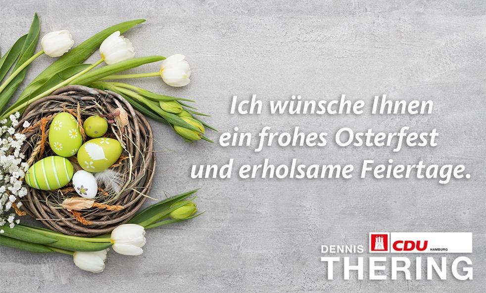 Ein frohes und friedliches Osterfest 2019!